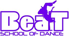 Beat School of Dance Wolverhampton Street Dance Ballet Tap Musical Theatre Zumba Logo